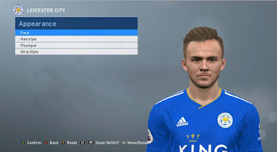 PES 2017 Faces James Maddison by ABW_FaceEdit