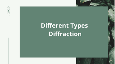 different types of diffraction