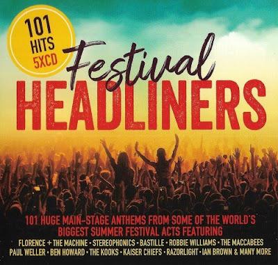 101 Hits Festival Headliners 5CD 2018 Mp3 320 Kbps