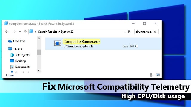 Can I safely kill the 'Microsoft Compatibility Telemetry' process in window 10