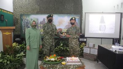Puncak Peringatan HUT Ke-75 Peralatan Angkatan Darat, Denpal Divif 2 Kostrad Adakan Syukuran