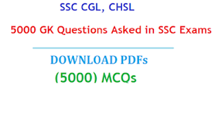 5000 GK Questions PDF Asked in SSC Exams PDF
