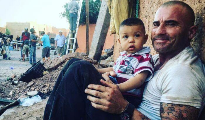 Un acteur de prison break remercie le Maroc