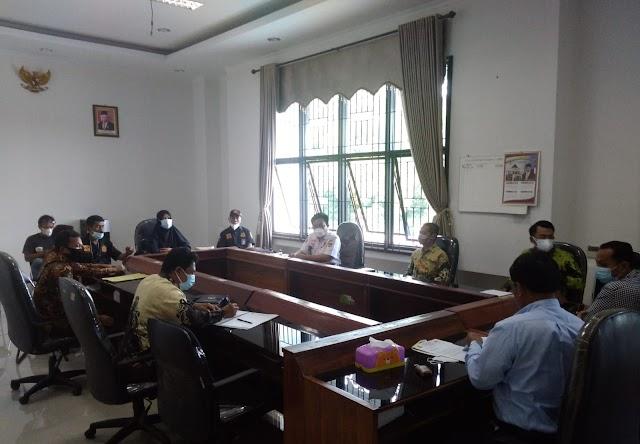 Ketua Komisi 1 DPRD Pringsewu Sebut, Kepala Pekon Waringin Sari Timur Belum Ada Dasar Pembuatan Sertifikat Tanah Pasar