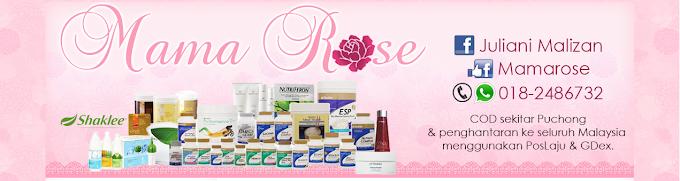 Tempahan Design Blog Mama Rose