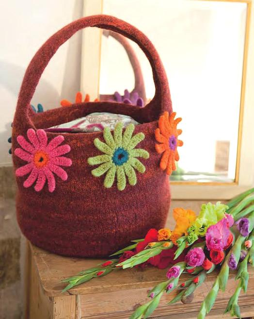 Сумка с цветами  /  Bag with flowers