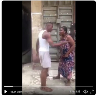 Trending Video Shows Running Wife Resisting Husband's Sexual Desire