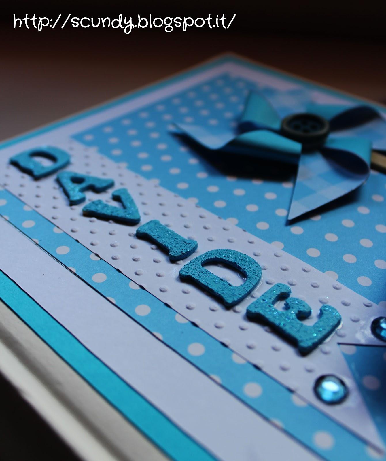 Top Scundy Scrap and Handmade: Album per il compleanno di Davide e  PU87