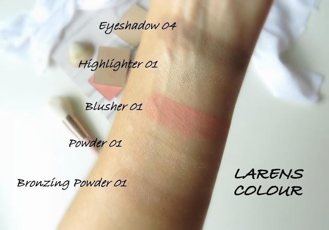 Larens Colour kozmetika odtiene