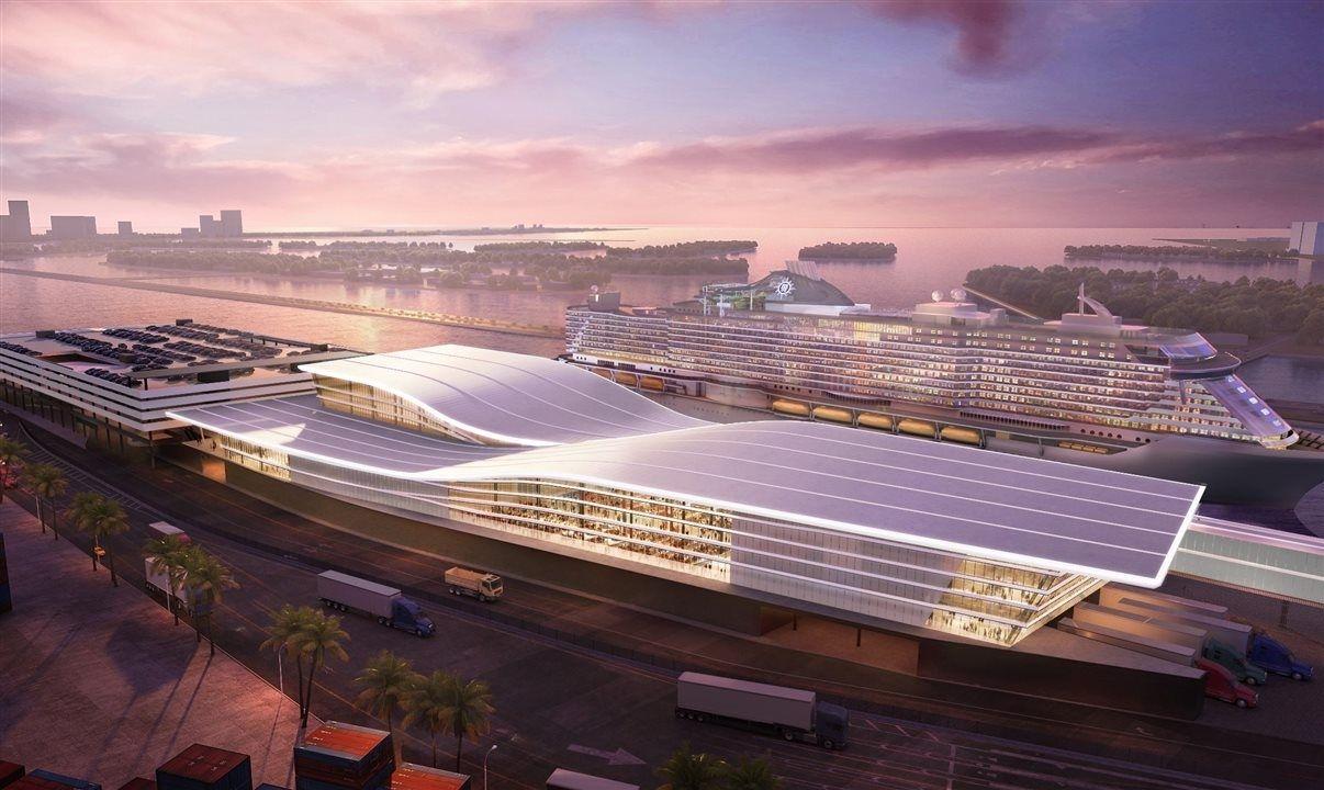 MSC faz parceria com Fincantieri para construir mega terminal em Miami