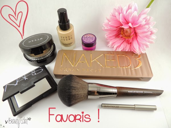 favoris beaute laura mercier nars stila bobbi brown benefit