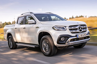 Mercedes-Benz X 350 d 4Matic Power Double Cab (2019) Front Side