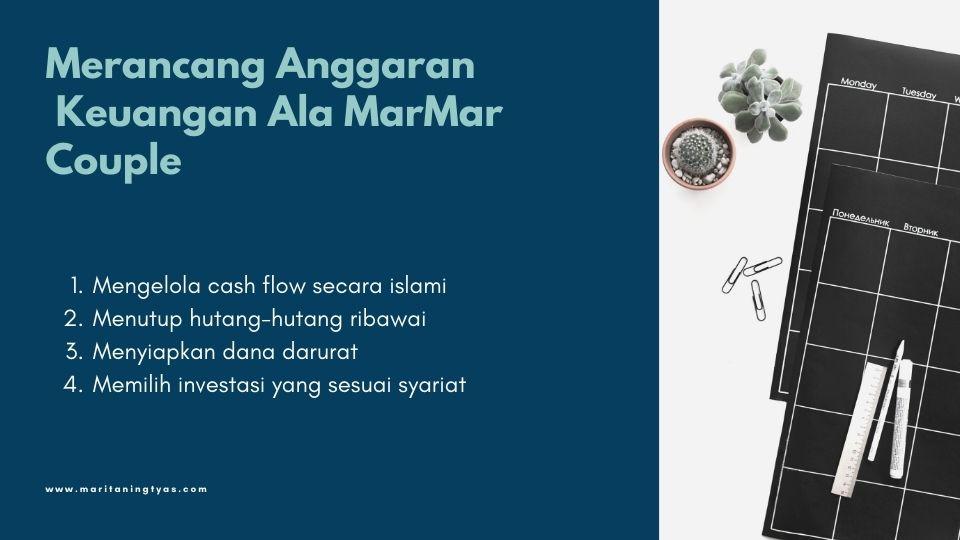 tips merancang anggaran rumah tangga ala marmar couple