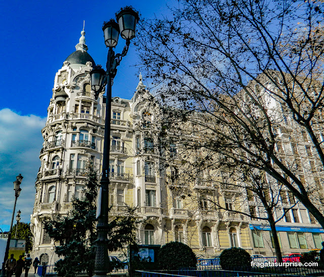Casa Gallardo, Praça de Espanha, Madri