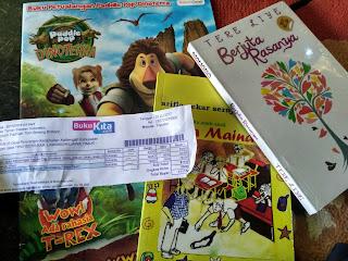 Buku Baru Hadiah Asosiasi Taman Baca Indonesia