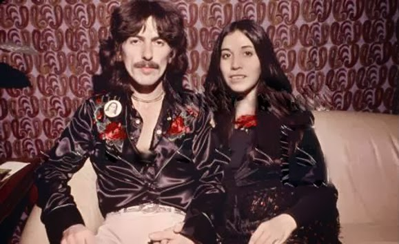 Olivia Was Working At AM Records As A Secretary Thats When She Met George Were Distributing Harrisons Dark Horse Label It 1974 The