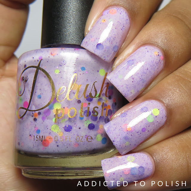 Delush Polish Papa Was a Rolling Scone High and Mightea swatches
