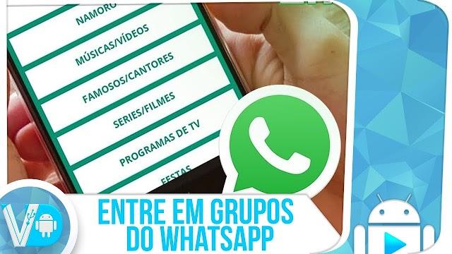 INÉDITO! Como ENTRAR em GRUPOS do WhatsApp ► SEM SER ADICIONADO