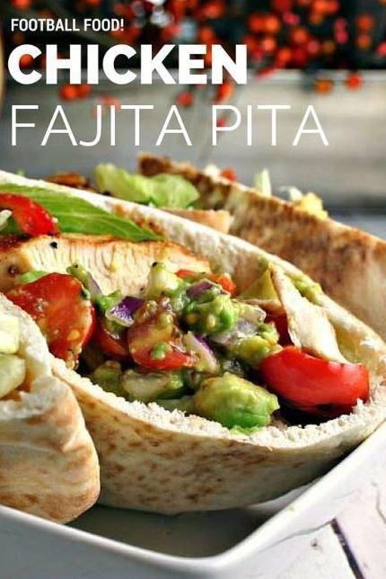 Chicken Fajita Pita