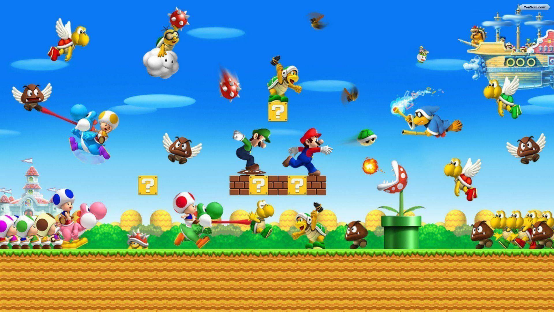 Super Mario Bros play original