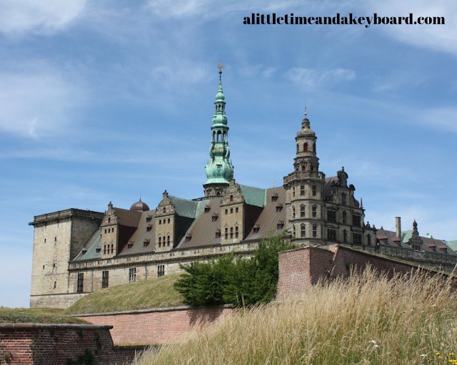 Another side of Kronborg Castle.