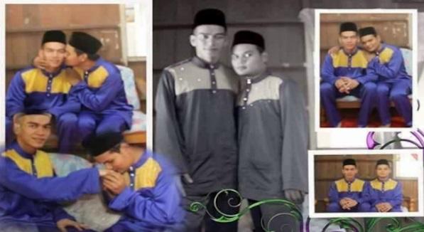 Pasangan Gay Melayu Bangga Muat Naik Gambar Dan Status Jijik
