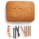 Foosball Fun Cake - Step 1