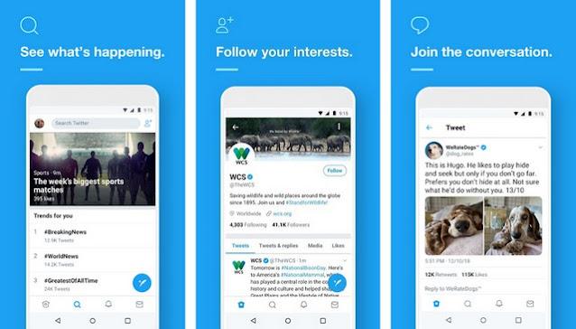 Twitter-for-Android - أفضل تطبيقات التواصل الاجتماعي للاندرويد