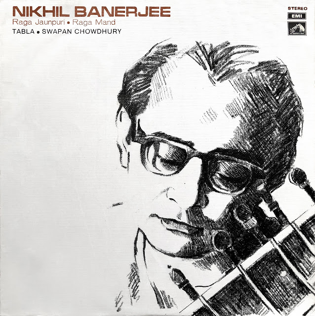 #India #Nikhil Banerjee #Sitar ##tabla # Swapan Chaudhury #Hindustani #raga #Indian music #traditional music #world music #musique indienne #vinyl #Allauddin Khan #Pandit #musique traditionnelle