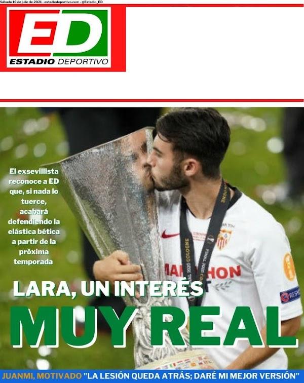 """Betis, Estadio Deportivo: """"Lara, un interés muy real"""""""