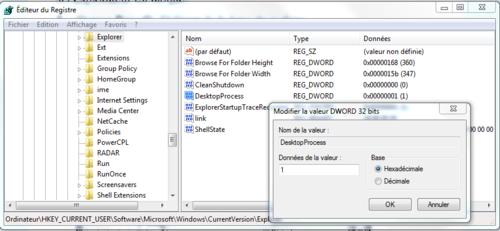 Explorateur Windows :