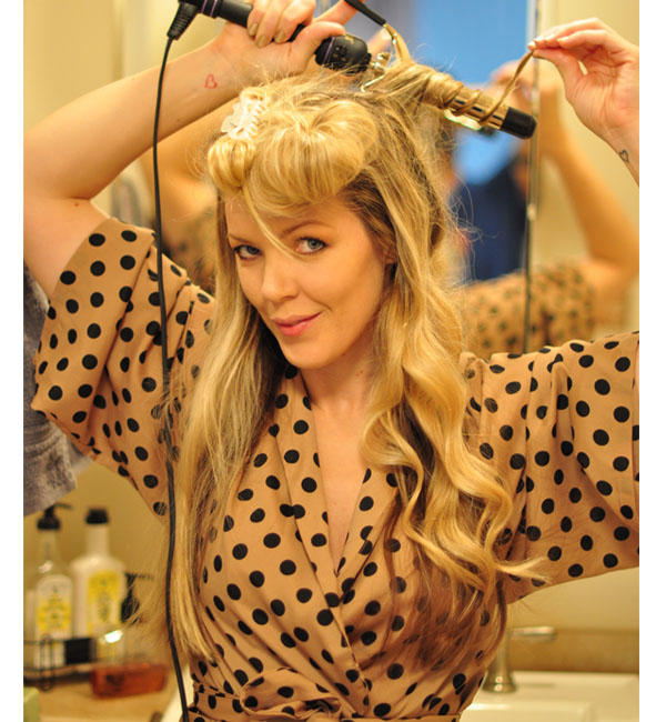 Waving Hair, Beauty Routine