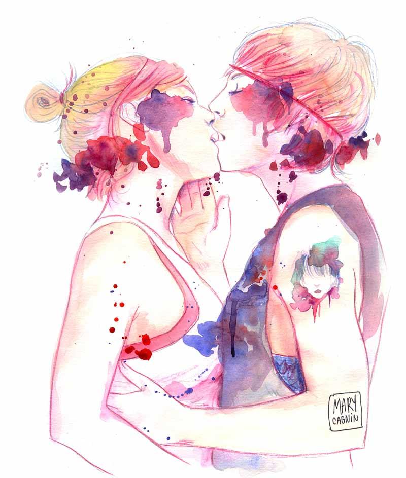 aquarela-casal-se-beijando