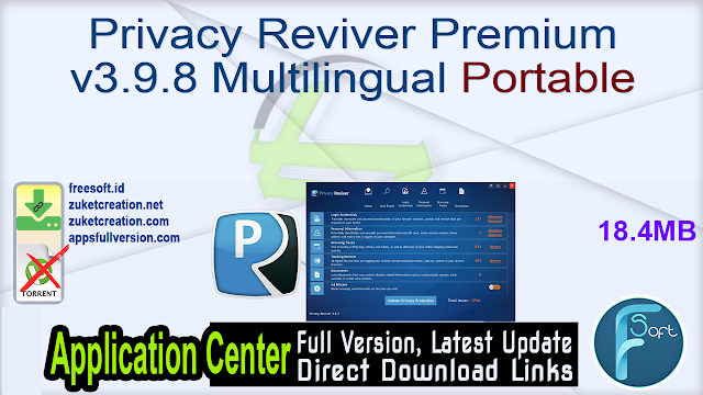Privacy Reviver Premium v3.9.8 Multilingual Portable