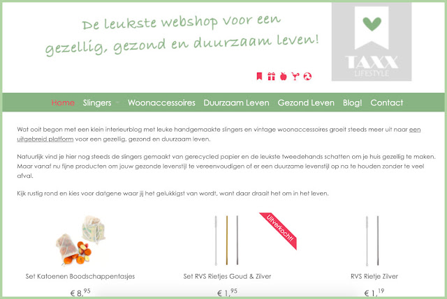 Webshop Taxx Lifestyle