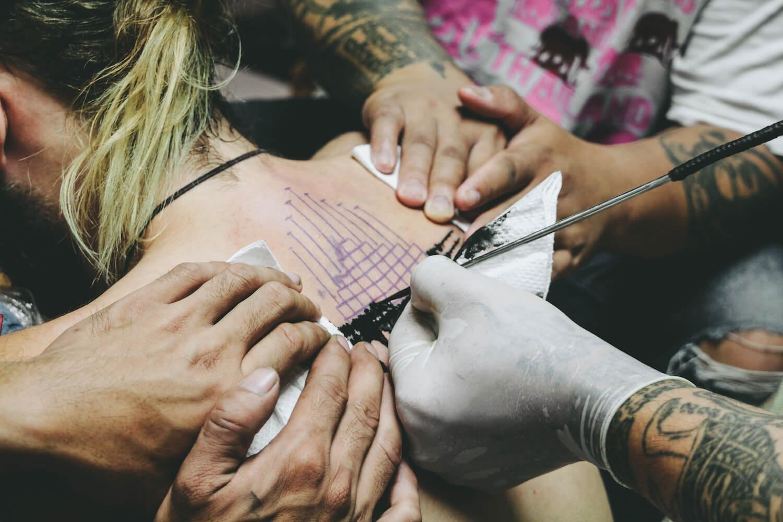 Tatuajes de Sak Yant