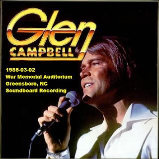 Glen Campbell -  1985-03-02 - Greensboro, NC (FM)