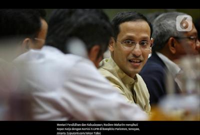 Mendikbud Nadiem Makarim: Teknologi Tidak Mungkin Menggantikan Peran Guru Sepenuhnya