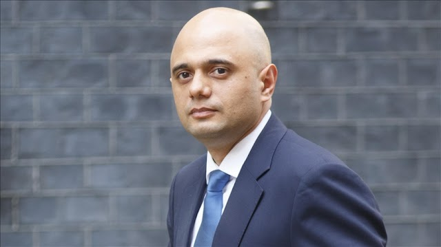 """UK Health Secretary Sajid Javid urged NHS to give first dose of coronavirus vaccine to youngsters """"absolutely,as soon as possible"""""""