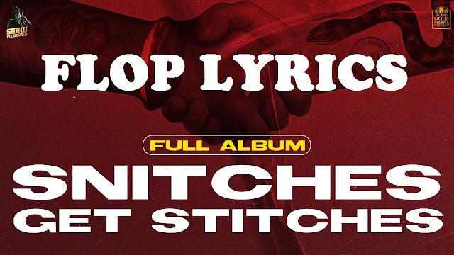 Flop Lyrics - Sidhu Moose Wala