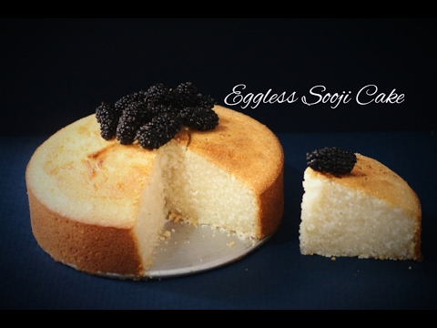 No Eggs, No Butter, No Oil Iyengar Bakery Sooji Cake in Convention Microwave(Eggless Semolina Cake)