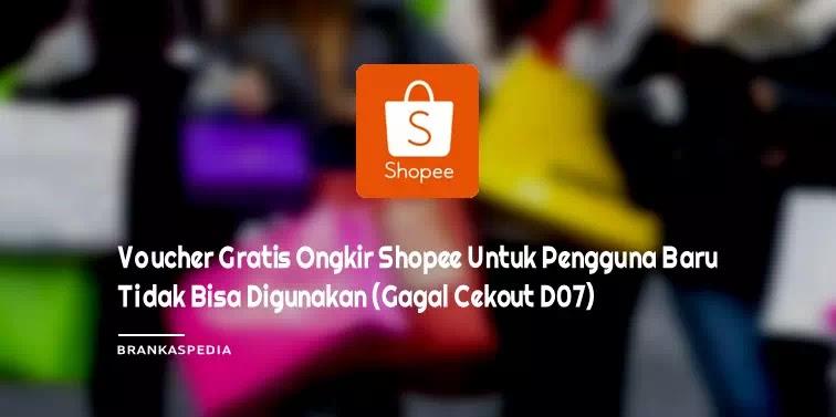 Voucher Gratis Ongkir Shopee Untuk Pengguna Baru Tidak Bisa Digunakan