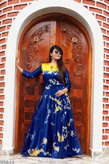 Heavy Satin Gown