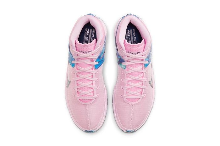 Nike KD 13 Aunt Pearl Pink Foam Top View