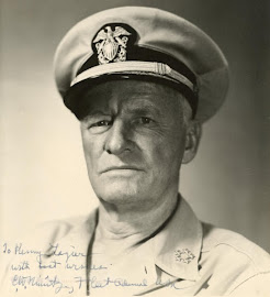 Almirante CHESTER WILLIAM NIMITZ (24/02/1885 - 20/02/1966) 2da Guerra Mundial