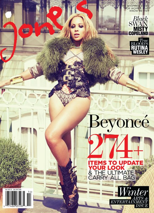 Beyonce poses for Jones magazine