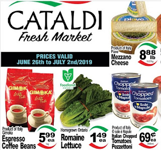Cataldi Fresh Market Weekly Flyer July 18 - 24, 2019