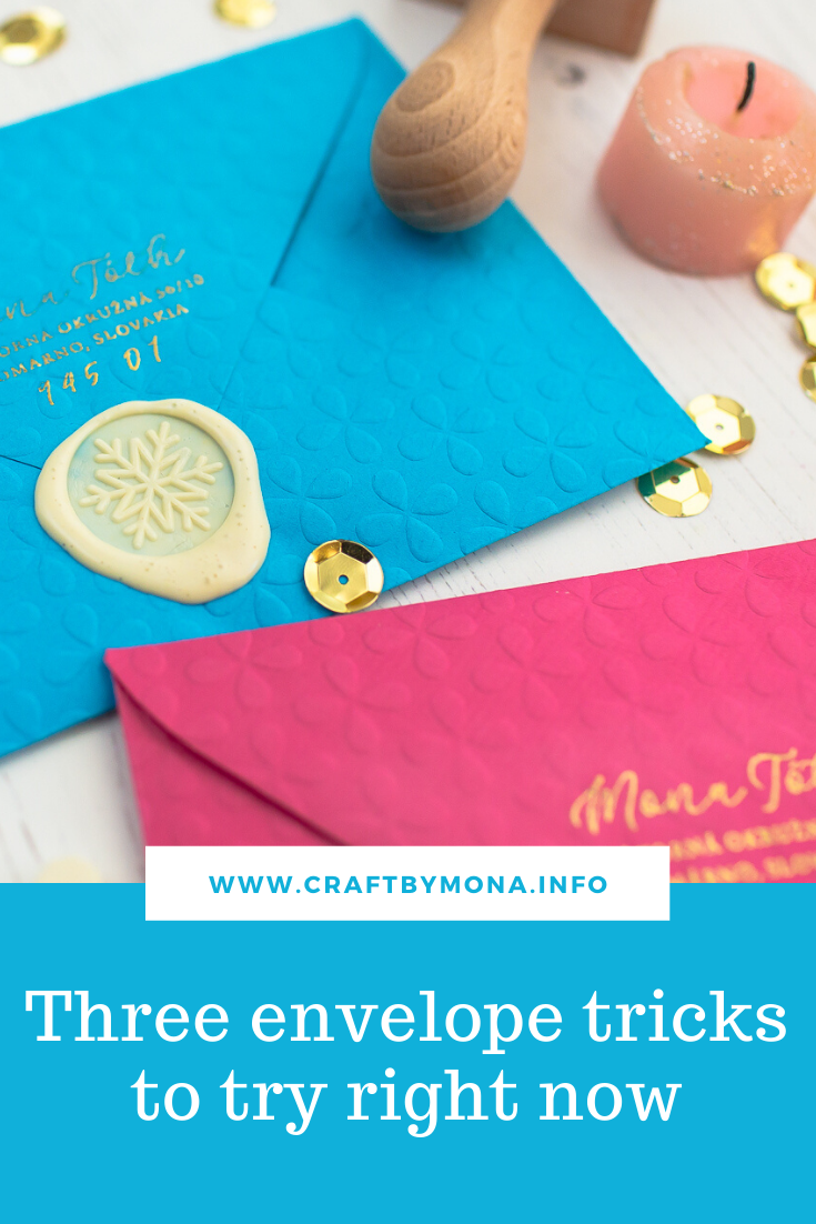 Three envelope tricks to try right now!