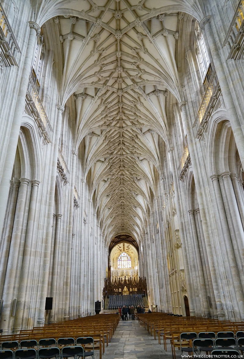 Vaulted Ceiling at Winchester Cathedral