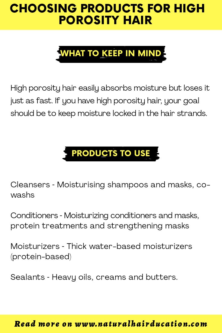 Products for high porosity